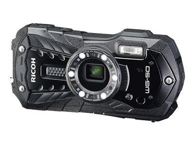 Ricoh WG-50 - Digitalkamera - Kompaktkamera - 16.0 MPix - 1080p / 30 BpS - 5x optischer Zoom