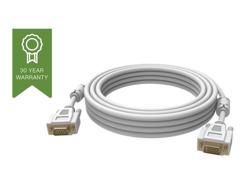 Vision Techconnect - VGA-Kabel - HD-15 (VGA) (M) bis HD-15 (VGA) (M) - 5 m - weiss