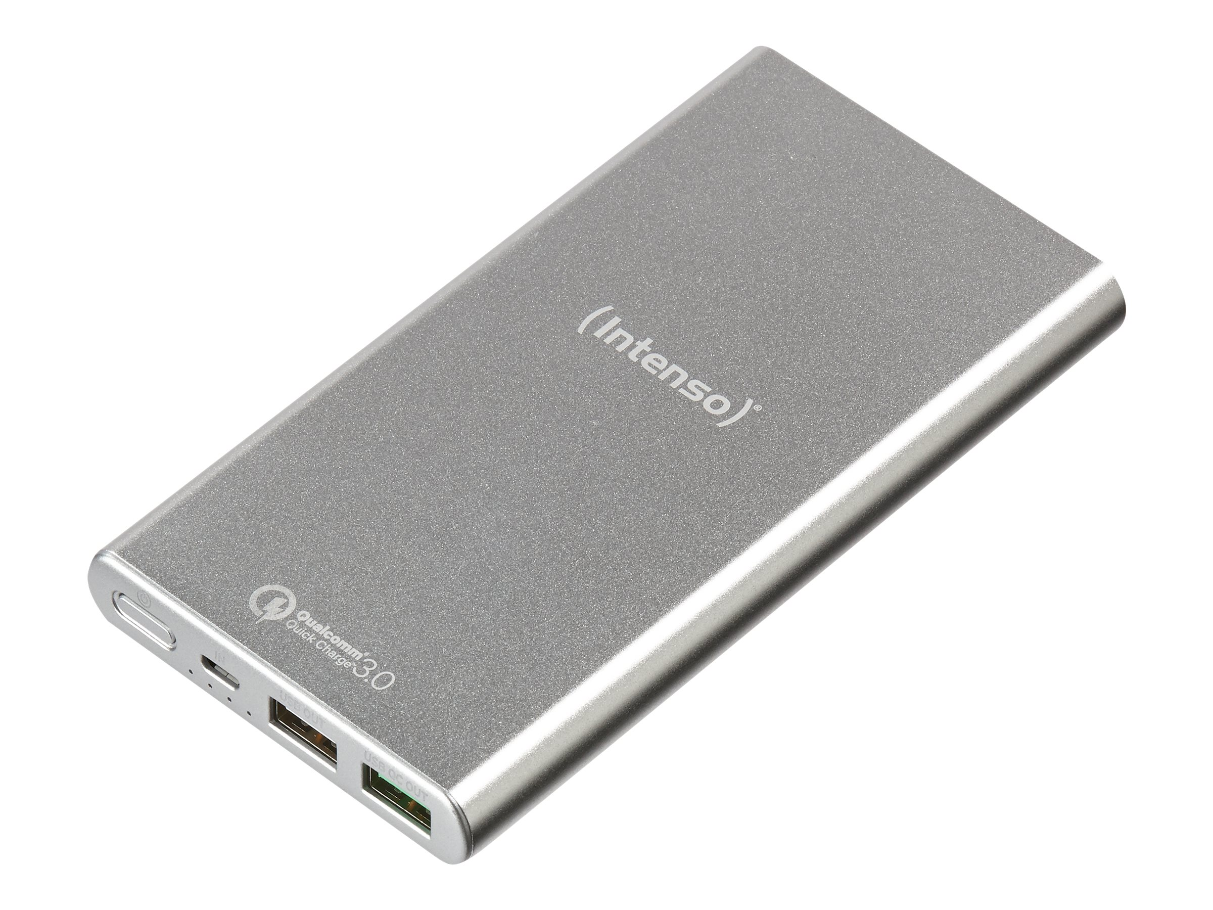 Intenso Powerbank Q10000 - Powerbank - 10000 mAh - 3.1 A - QC 3.0 - 2 Ausgabeanschlussstellen (USB)