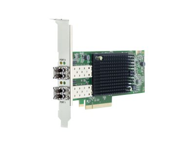 Emulex LPE35002-M2 - Hostbus-Adapter - PCIe 4.0 x8 Low-Profile - 32Gb Fibre Channel Gen 7 (Short Wave) x 2