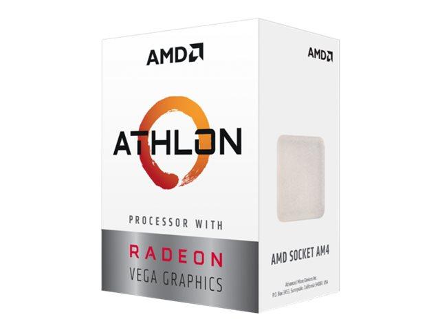 AMD Athlon 220GE - 3.4 GHz - 2 Kerne - 4 Threads - 4 MB Cache-Speicher - Socket AM4