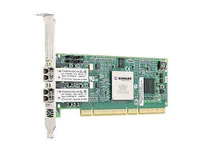 Emulex LightPulse LP1050DC-E - Hostbus-Adapter - PCI-X - Fibre Channel x 2