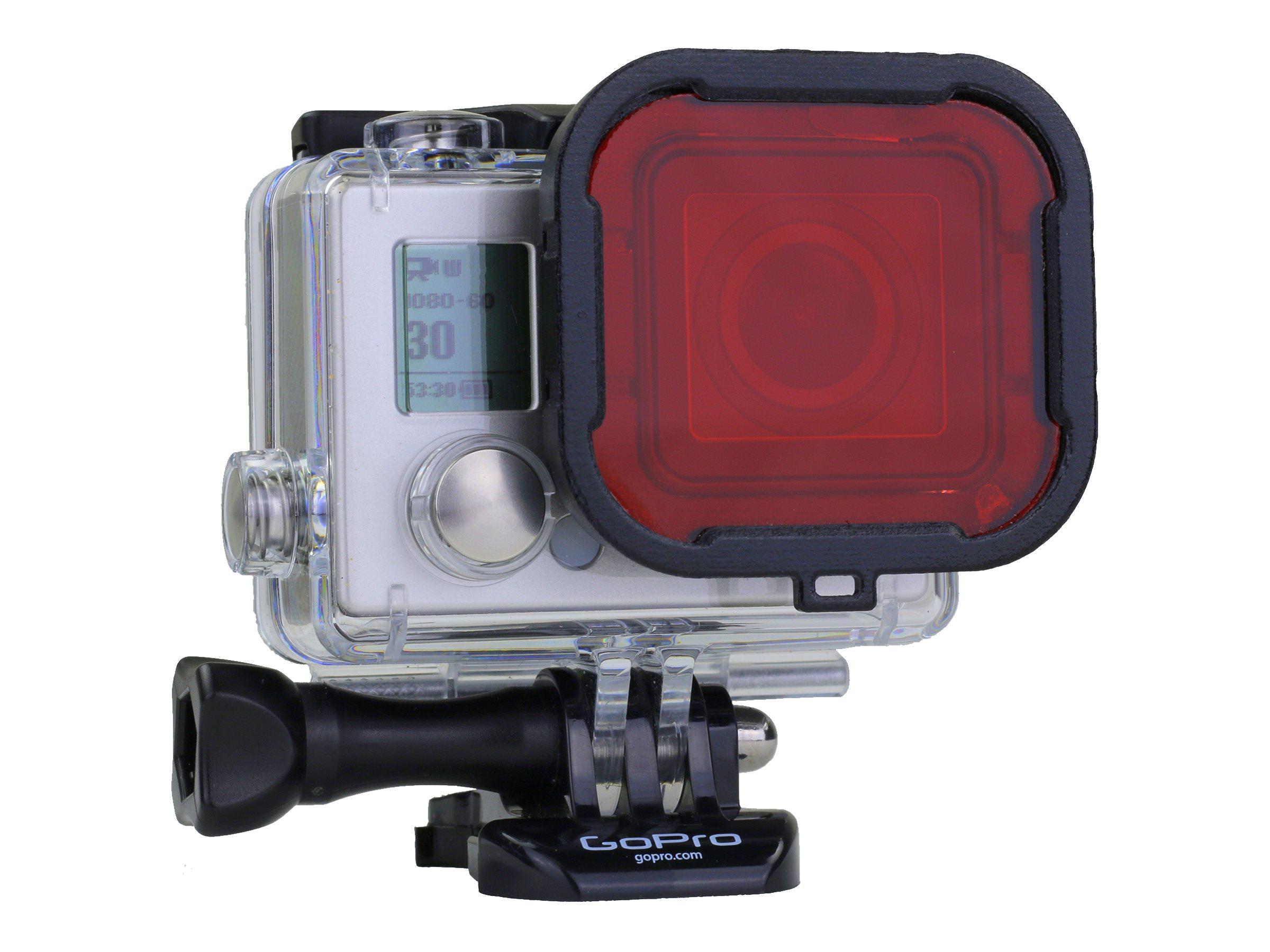 Polar Pro - Filter - Farbkorrektur - Rot - für GoPro Housing; HERO3+
