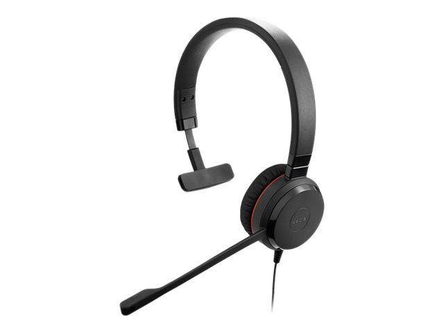 Jabra Evolve 30 II Mono - Headset - On-Ear - Ersatz - kabelgebunden - 3,5 mm Stecker