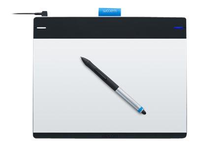 Wacom Intuos Pen & Touch Medium - Digitalisierer - rechts- und linkshändig - 21.6 x 13.5 cm - elektromagnetisch - 4 Tasten