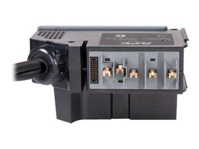 APC Power Distribution Module - Stromverteilungseinheit (Plug-In-Modul) - Wechselstrom 400 V - Ausgangsanschlüsse: 3 - Grau