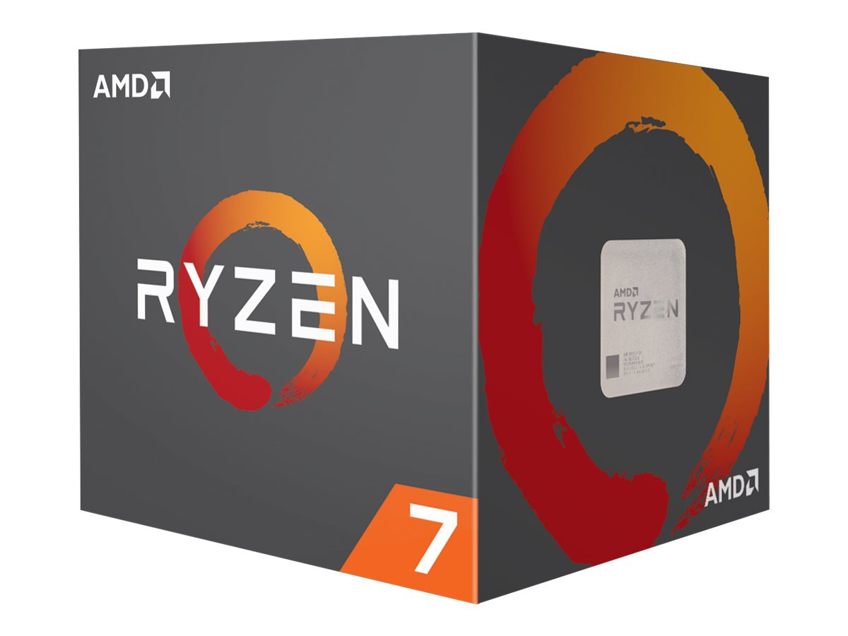 AMD Ryzen 7 2700X - 3.7 GHz - 8 Kerne - 16 Threads - 16 MB Cache-Speicher - Socket AM4
