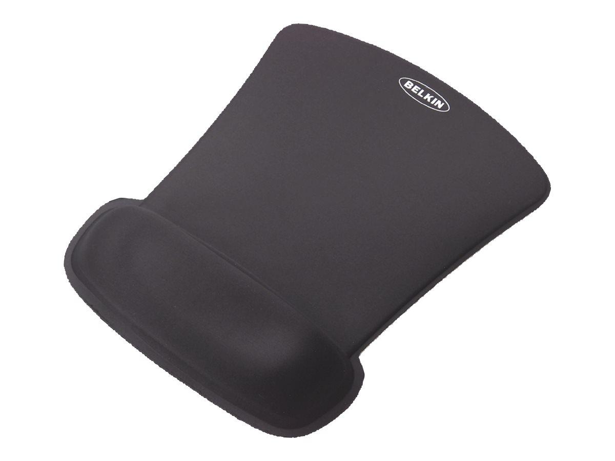 Belkin WaveRest Gel Mouse Pad - Mauspad mit Handgelenkpolsterkissen - Schwarz
