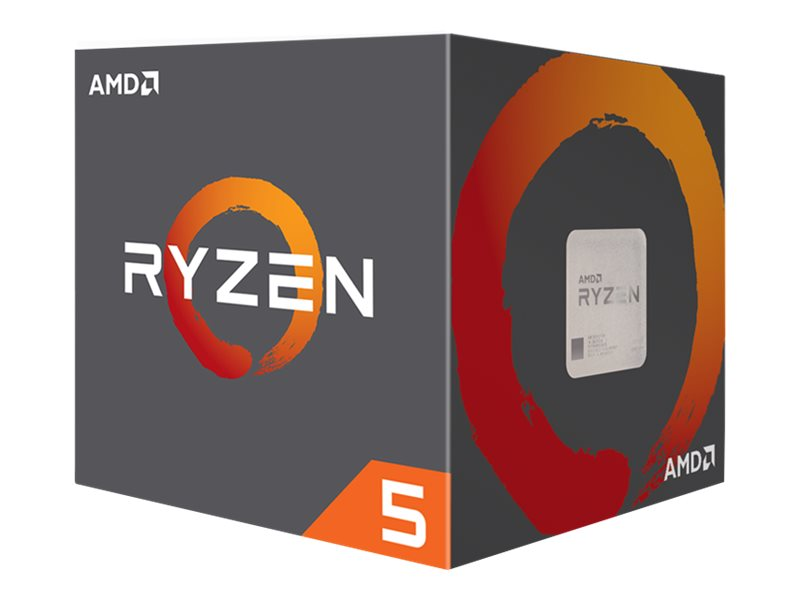 AMD Ryzen 5 1600 - 3.2 GHz - 6 Kerne - 12 Threads - 19 MB Cache-Speicher - Socket AM4