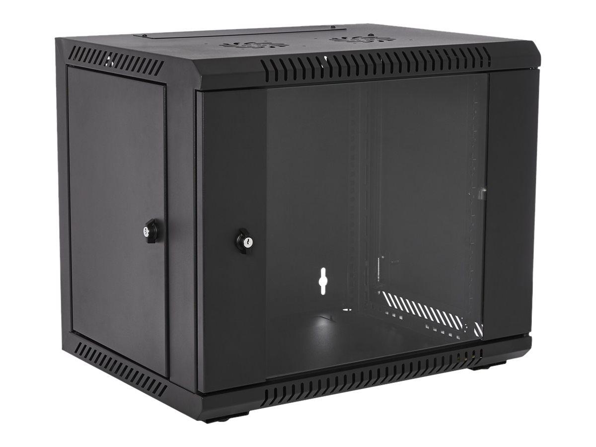 V7 RMWC9UG450-1E - Schrank - Netzwerkschrank - geeignet für Wandmontage - 9U