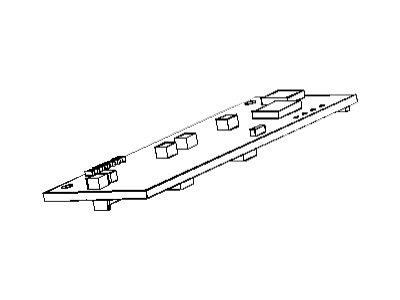 Zebra - Unterer SPI-Sensor - für Zebra TTP 2100, TTP 2110, TTP 2130, TTP 2130 Evaluation Kit