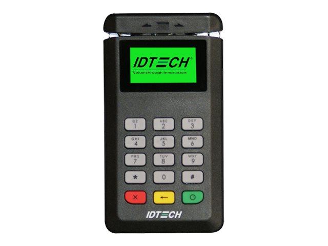 ID TECH BTPay 200 - Magnet- / SmartCard-Leser - USB / Bluetooth - Schwarz