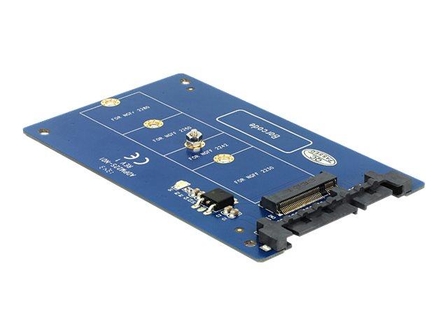 DeLOCK Converter SATA 22 pin > M.2 NGFF - Speicher-Controller - SATA 6Gb/s - 600 MBps - SATA 6Gb/s