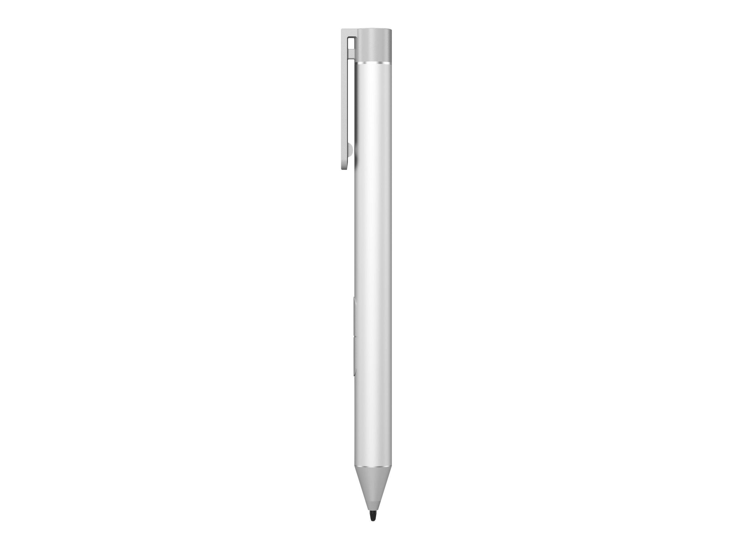HP Active Pen - Digitaler Stift - 2 Tasten - Silver Nature - für HP 240 G6; Elite x2; EliteBook 1040 G4; EliteBook x360; Pro x2;