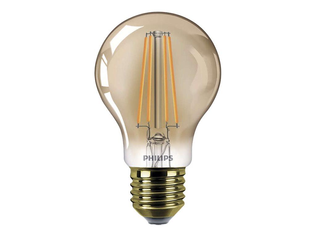 Philips LEDClassic - LED-Lampe - E27 - 7.5 W (Entsprechung 48 W) - Klasse A+ - Flammenlicht