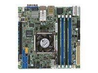 SUPERMICRO X10SDV-TLN4F - Motherboard - Mini-ITX - Intel Xeon D-1540 - USB 3.0 - 2 x 10 Gigabit LAN, 2 x Gigabit LAN