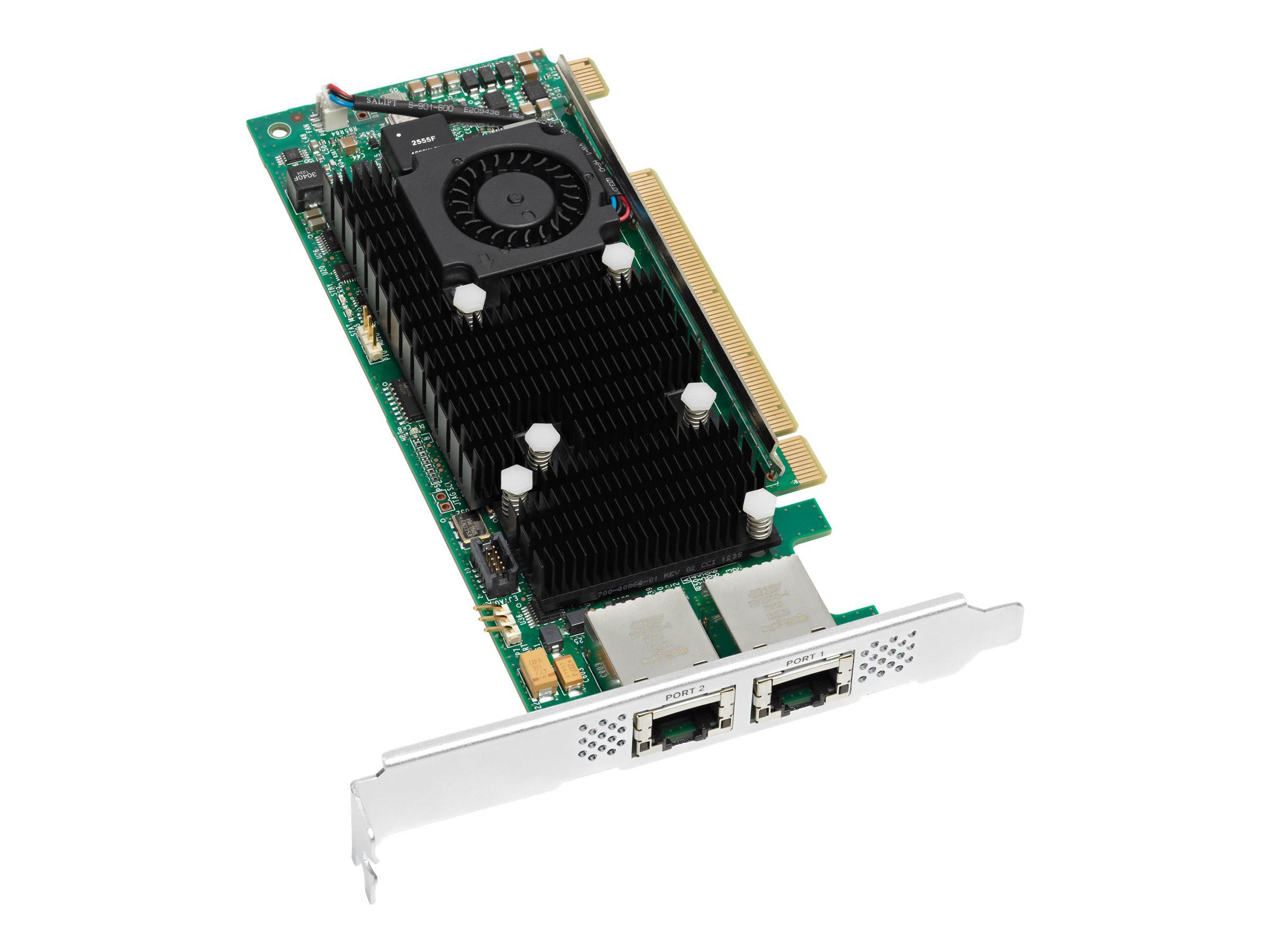 Cisco UCS Virtual Interface Card 1225 - Netzwerkadapter - PCIe 2.0 x16 - 10 GigE, 10Gb FCoE - für UCS C220 M4, SmartPlay Select