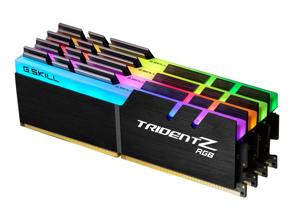 G.Skill TridentZ RGB Series - DDR4 - 32 GB: 4 x 8 GB - DIMM 288-PIN - 2400 MHz / PC4-19200 - CL15