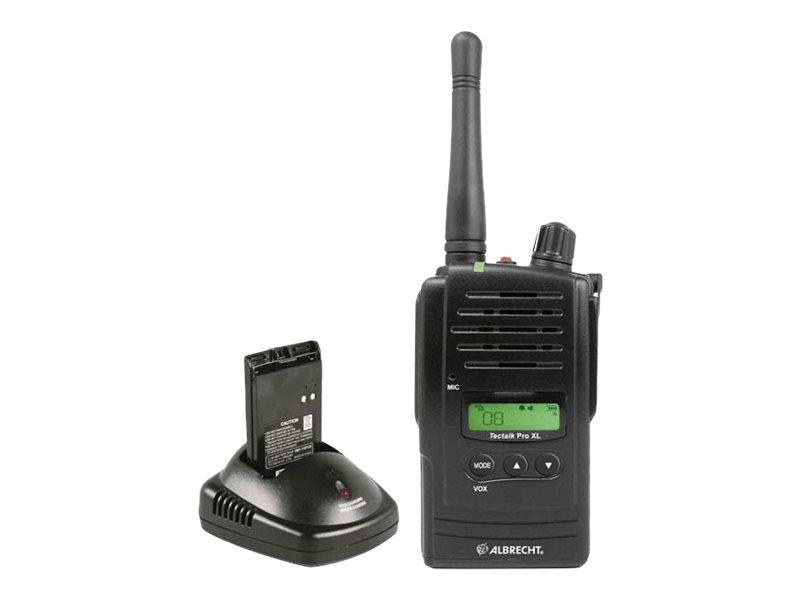 Albrecht Tectalk PRO XL - Tragbar - Two-Way Radio - PMR - 8 Kanäle