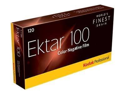 Kodak PROFESSIONAL EKTAR 100 - Farbnegativfilm - 120 (6 cm) - ISO 100 - 5 Rollen