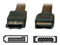 Secomp VALUE - SATA auf eSATA-Kabel - Serial ATA 150/300 - SATA (W) bis eSATA (W) - 1 m - Schwarz