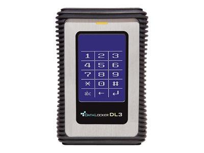 DataLocker 3 - Solid-State-Disk - verschlüsselt - 2 TB - extern (tragbar) - USB 3.0