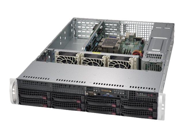 Supermicro SuperServer 5029P-WTR - Server - Rack-Montage - 2U - 1-Weg - RAM 0 GB