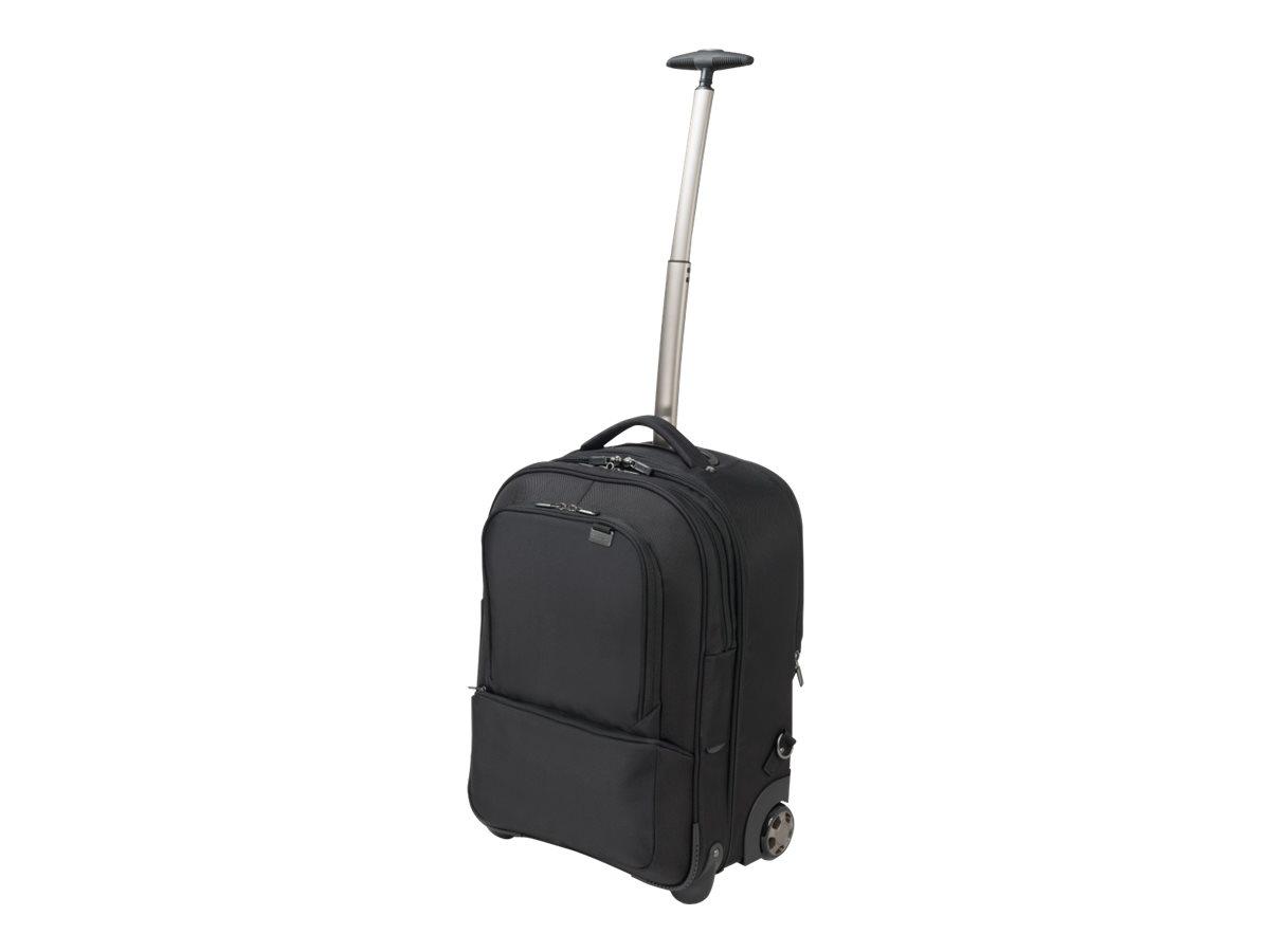 DICOTA Backpack Roller Pro - Notebook-Rucksack/Wagen - 43.9 cm (17.3