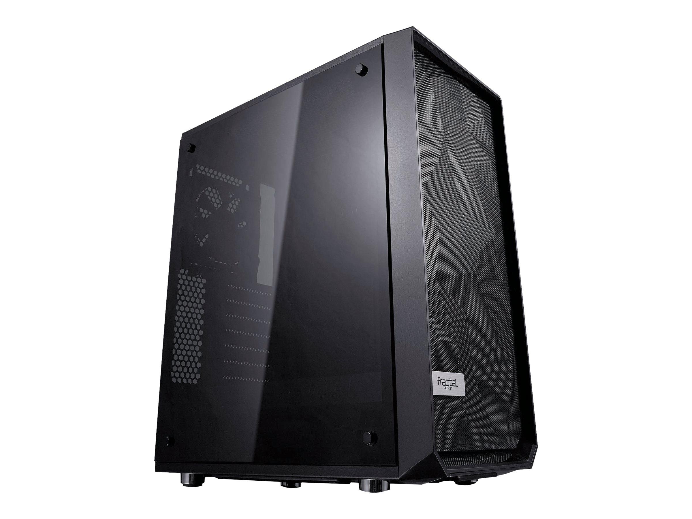 Fractal Design Meshify C - Dark TG - Midi Tower - ATX - ohne Netzteil (ATX) - Schwarz