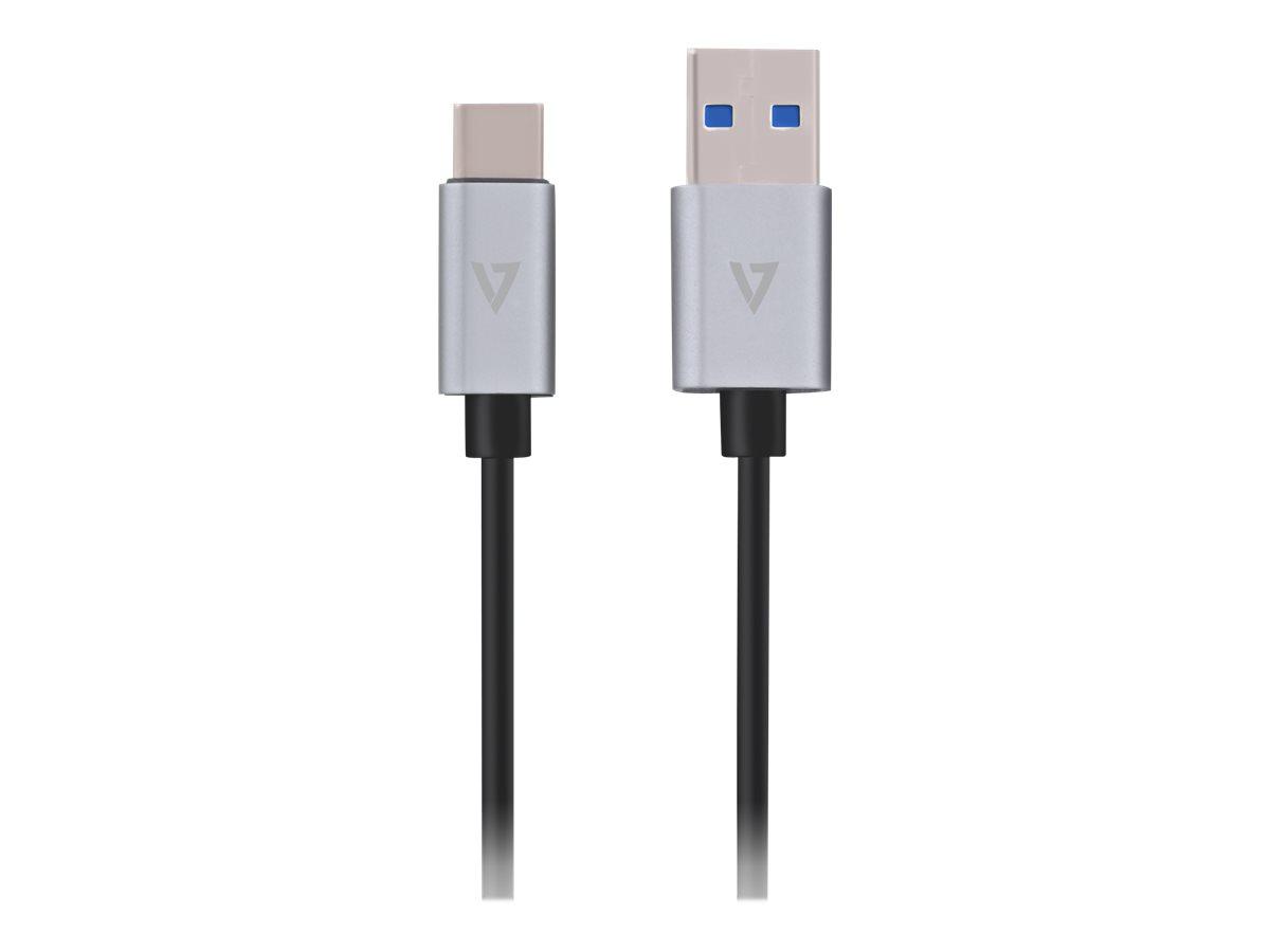 V7 - USB-Kabel - USB (M) bis USB-C (M) - USB 3.1 Gen 2 - 2 A - 1 m