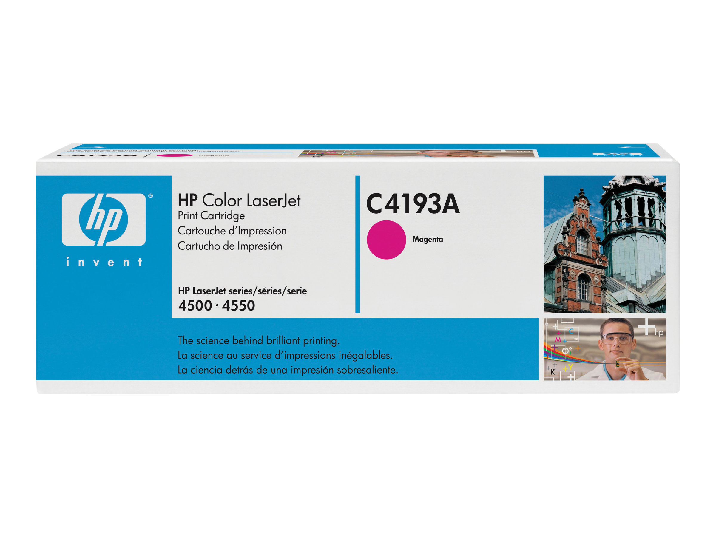 HP C4193A - Magenta - Original - LaserJet - Tonerpatrone (C4193A) - für Color LaserJet 4500, 4500dn, 4500n, 4550, 4550DN, 4550HD