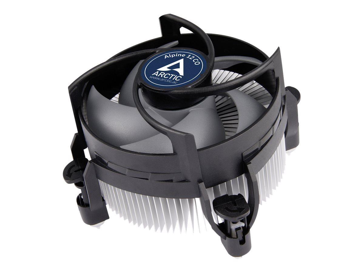 ARCTIC Alpine 12 CO - Prozessor-Luftkühler - (für: LGA1156, LGA1155, LGA1150, LGA1151) - Aluminium - 92 mm