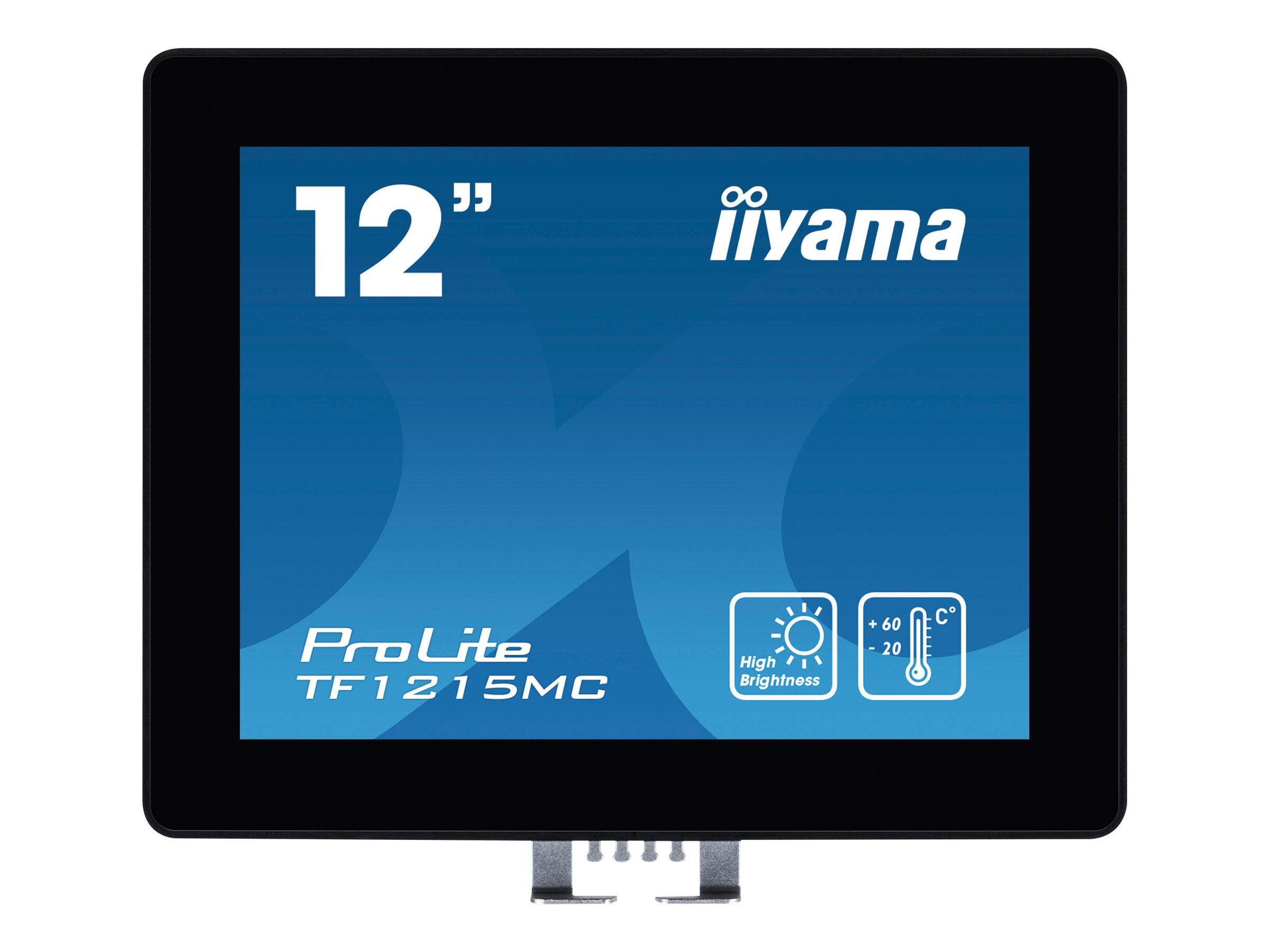 iiyama ProLite TF1215MC-B1 - LED-Monitor - 31 cm (12.1