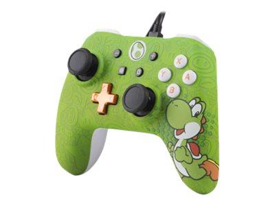 PowerA Super Mario Character Series - Yoshi Edition - Game Pad - kabelgebunden - für Nintendo Switch