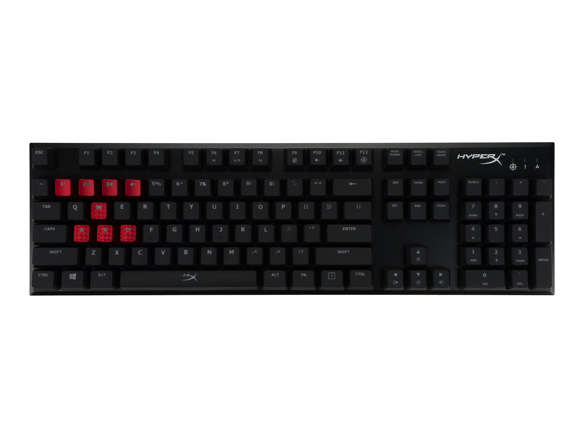HyperX Alloy FPS Mechanical Gaming - Tastatur - hintergrundbeleuchtet - USB - Deutsch - Schlüsselschalter: CHERRY MX Blue