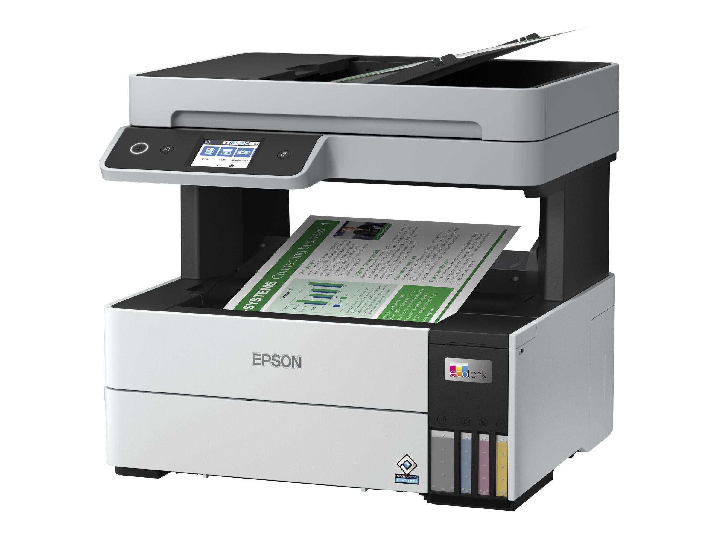 Epson EcoTank ET-5150 - Multifunktionsdrucker - Farbe - Tintenstrahl - A4/Legal (Medien) - bis zu 17.5 Seiten/Min. (Drucken)