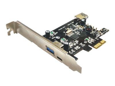 M-CAB - USB-Adapter - PCIe 2.0 - USB 3.0 x 1 + USB 3.0 (intern) x 1 + USB-C x 1