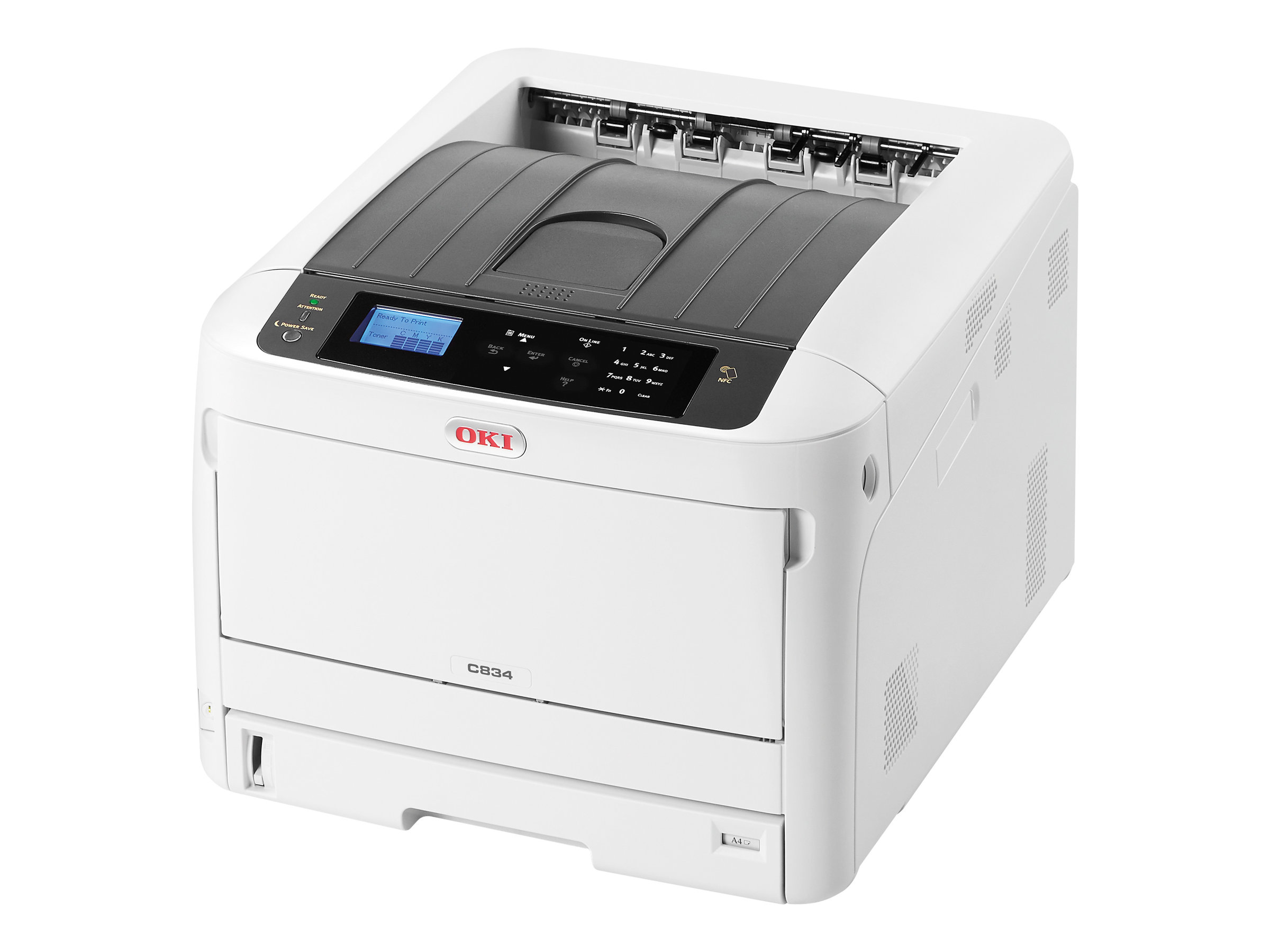 OKI C834dnw - Drucker - Farbe - Duplex - LED - A3