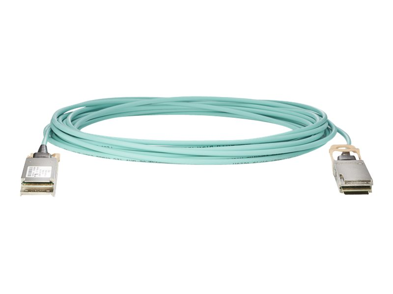 HPE 100Gb Active Optical Cables - Ethernet 100GBase-AOC cable - QSFP28 bis QSFP28 - 15 m - Glasfaser - aktiv