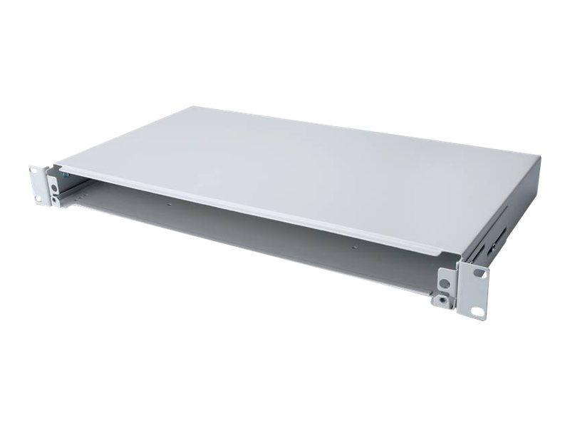 DIGITUS Professional DN-96200 - Glasfaserkabelkiste - Grau, RAL 7035 - 1U - 48.3 cm (19