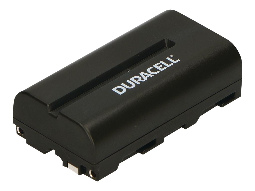 Duracell DR5 - Batterie - Li-Ion - 2200 mAh - Schwarz - für Fujifilm DS-220; Sony DCM-M1, DKC-FP3, DSR-PD100, PD150, PD170; Mavi