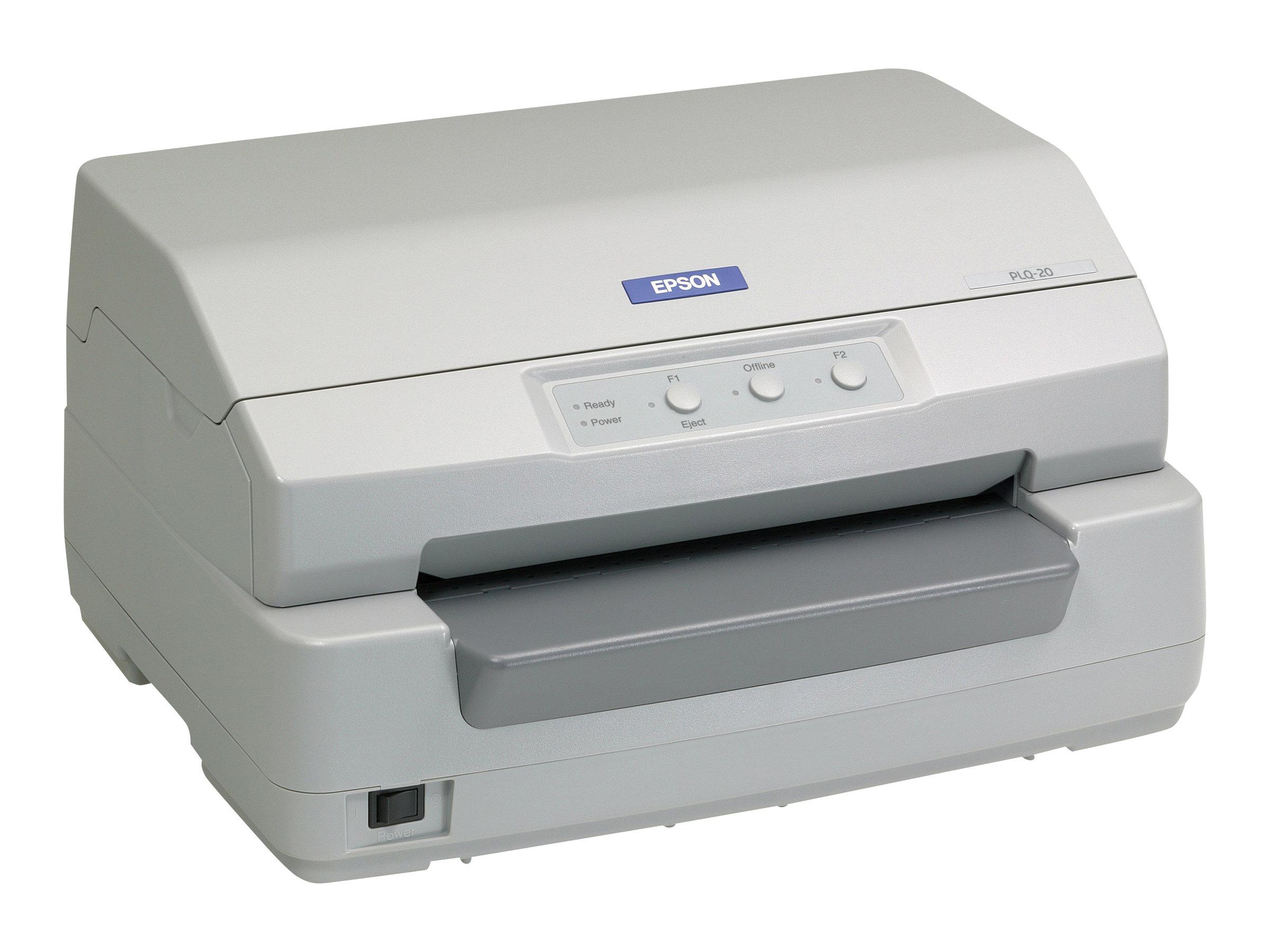 Epson PLQ 20M - Sparbuchdrucker - monochrom - Punktmatrix - 245 x 297 mm - 24 Pin