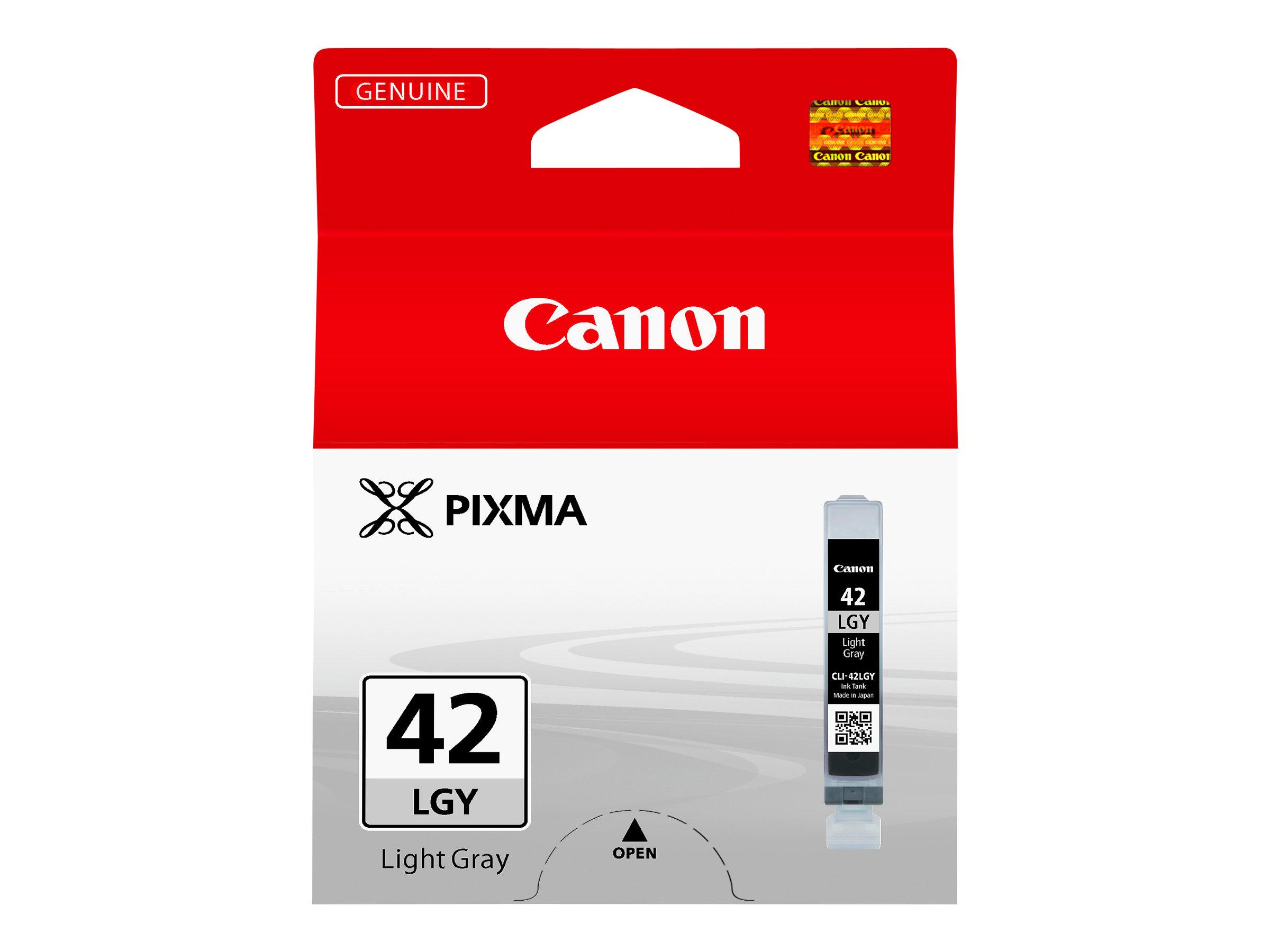Canon CLI-42LGY - 13 ml - farbstoffbasiertes Hellgrau - Original - Tintenbehälter - für PIXMA PRO-100, PRO-100S; PIXUS PRO-100