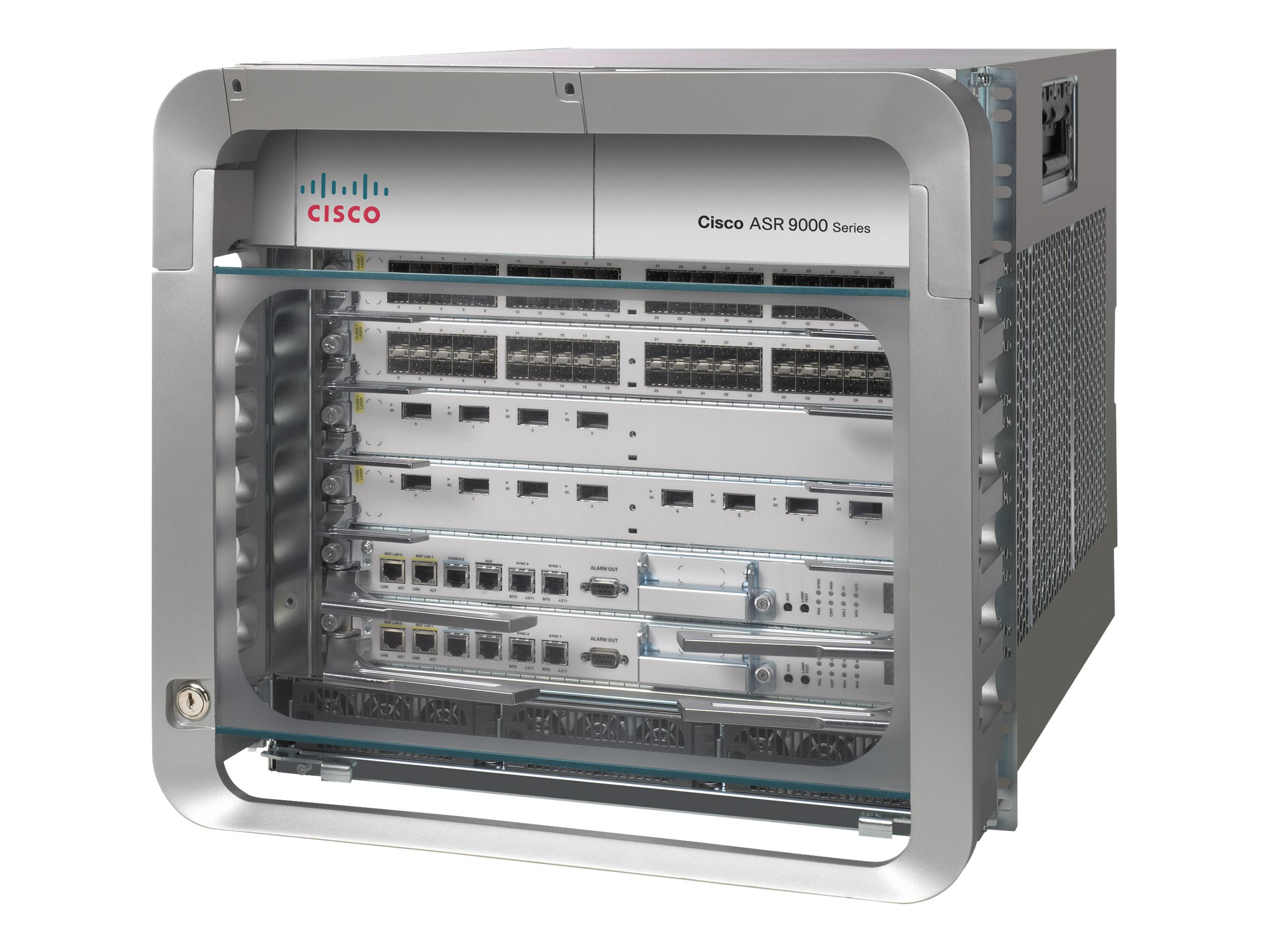 Cisco ASR 9006 with PEM Version 2 - Modulare Erweiterungseinheit - an Rack montierbar