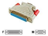 Lindy - Serieller Adapter - DB-25 (W) bis DB-9 (M)