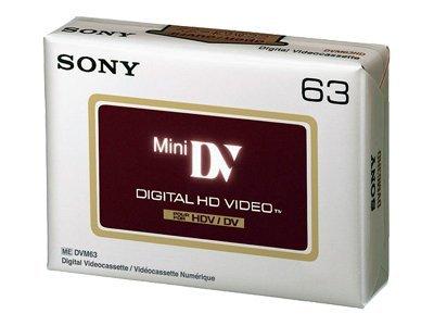 Sony DVM-63HDV - Mini DV - 1 x 63 Min.