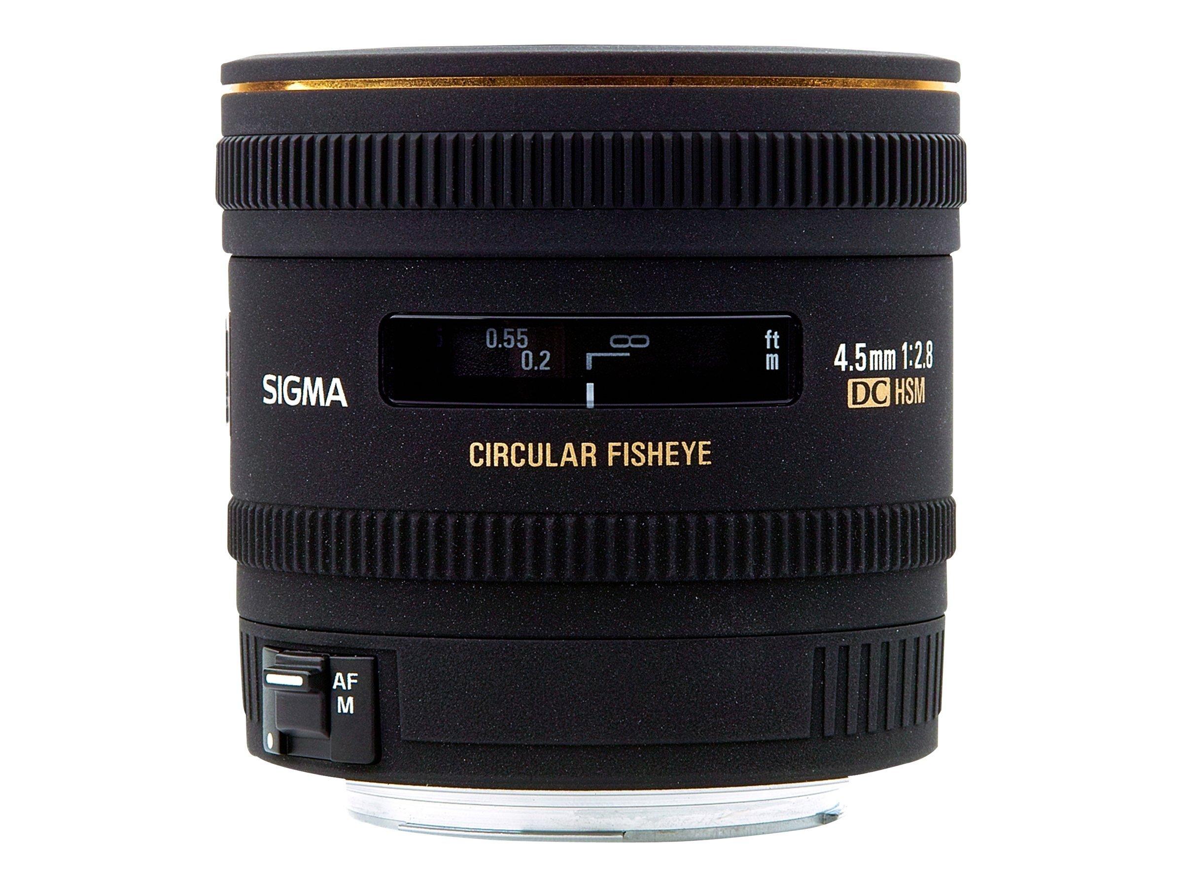 Sigma EX - Fischaugenobjektiv - 4.5 mm - f/2.8 DC HSM - Canon EF