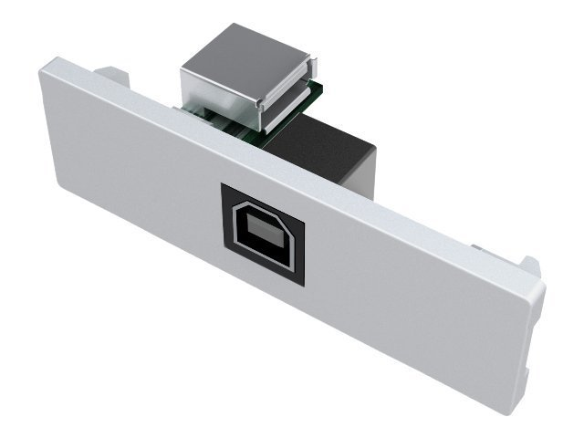 VISION TechConnect - Modulares Faceplate-Snap-In - USB-Typ B