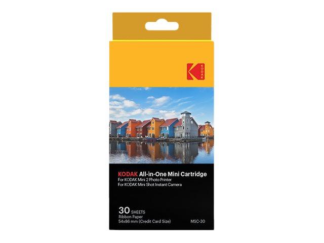 Kodak All-In-One Cartridge MSC-30 - Farbe (Cyan, Magenta, Gelb) - Farbband- / Etiketten-Satz - für Kodak C210, MiniShot; Photo P