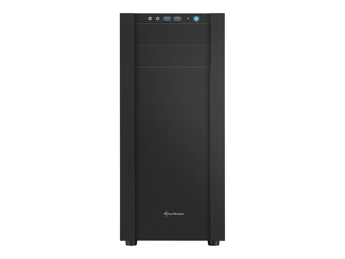 Sharkoon S25-W - Tower - ATX - ohne Netzteil - USB/Audio